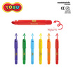 DONG-A TORU Cream Pas ปากกาครีมพาส 6 สี