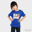 DOSH เสื้อยืดคอกลมแขนสั้น เด็ก Unisex ลาย We Bare Bears สีน้ำเงิน FBBBT5002-NB