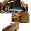 OSAKA UP145 สีน้ำตาลอ่อน กระเป๋าสะพายข้าง