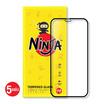 Ninja ฟิล์มกระจก Iphone 12 mini  Full แพ็ค 5 ชิ้น