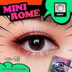 คอนแทคเลนส์ Dream Color Mini Rome Gray ค่าสายตา -100 ถึง -350