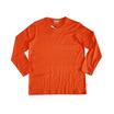 แตงโม เสื้อยืดคอกลมแขนยาว SS สี SS53 ส้มอิฐ