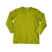 แตงโม เสื้อยืดคอกลมแขนยาว SS สี SS33 เขียวขี้ม้า